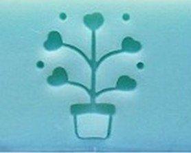 心動小羊^^好多愛心盆栽手工皂DIY材料 工具 手工皂皂章 皂印 皂章 圖案章