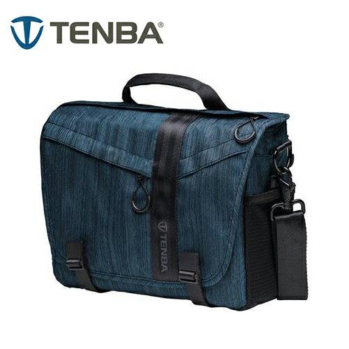 ◎相機專家◎TenbaMessengerDNA10特使肩背包攝影側背包鈷藍638-473公司貨