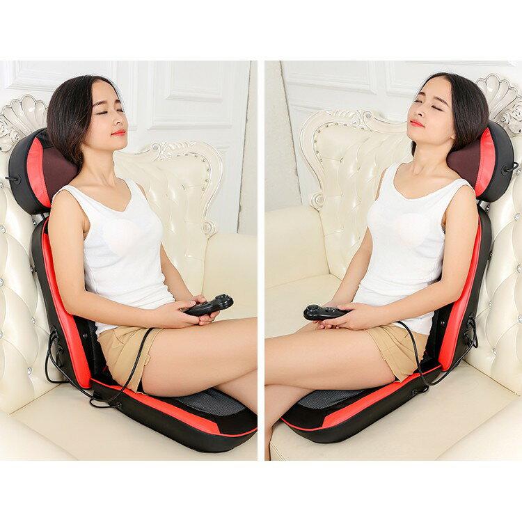 全自動小型電動按摩椅家用全身按摩墊腰部背部頸椎按摩器老人椅子 3