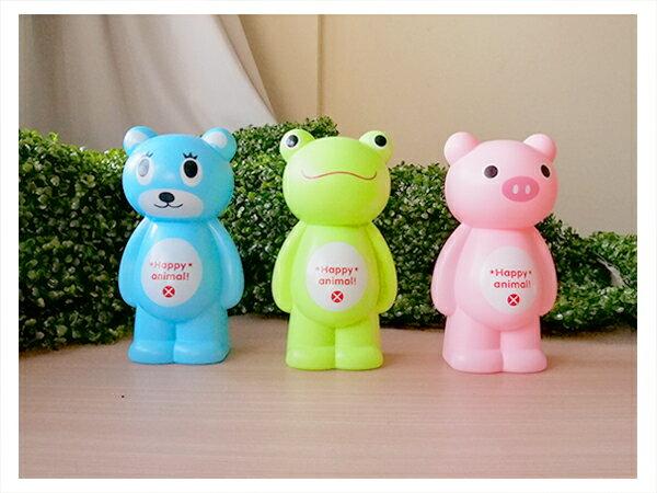 【aifelife】可愛動物亮面存錢筒-大撲滿卡通動物存錢筒小豬青蛙小熊存錢筒造型存錢筒可印字贈品禮品