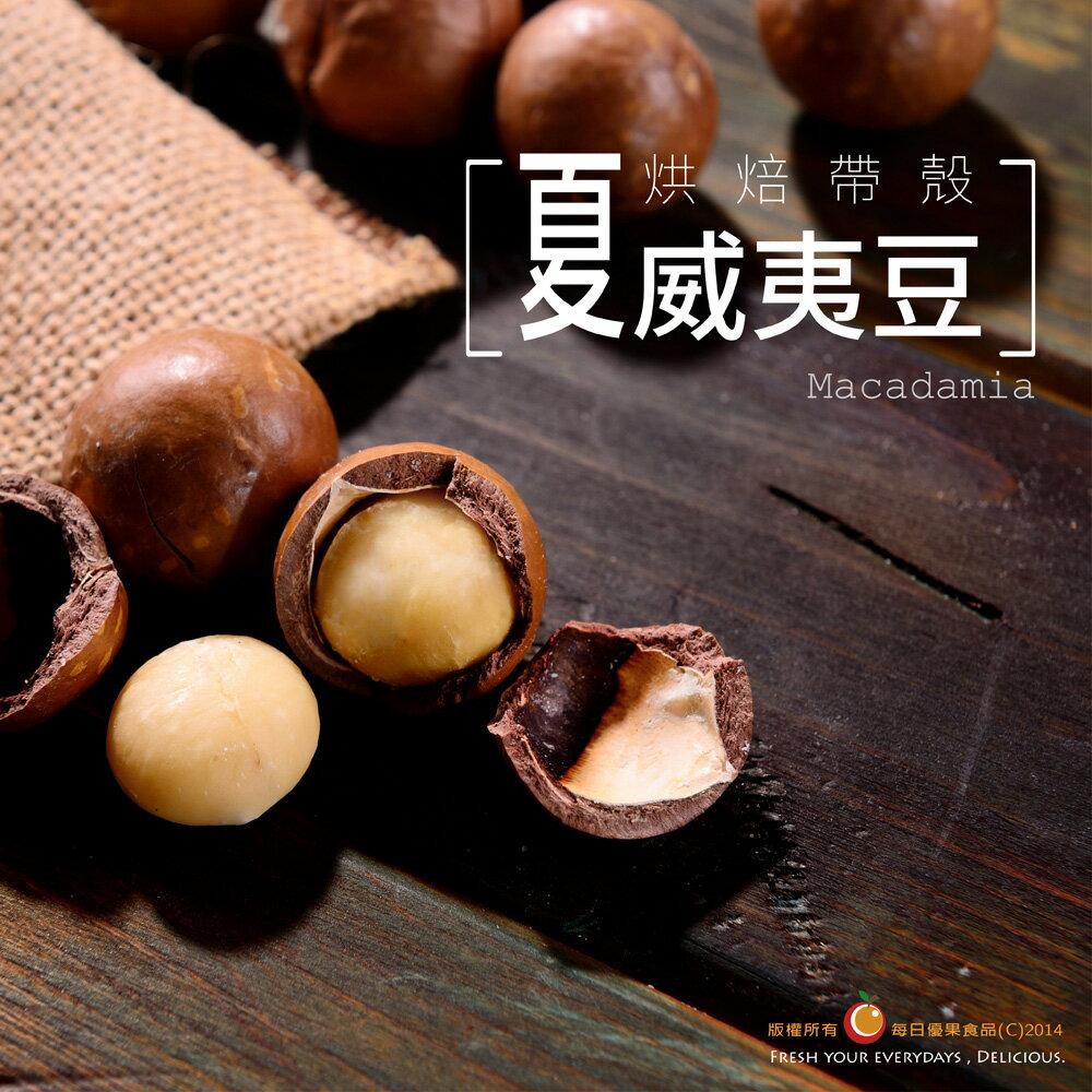 烘焙帶殼夏威夷豆〈內附撥殼器〉大包裝580公克【每日優果】