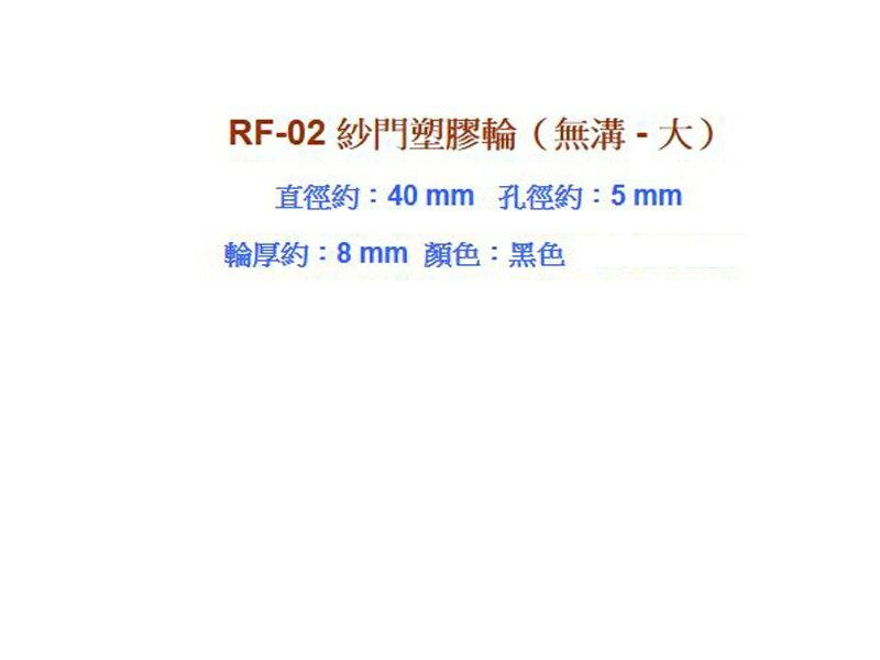 RF-02【昇瑋鋁窗五金】塑膠輪仁 (大-無溝)紗窗輪 紗門輪 鋁窗輪 塑膠輪 鋁門輪 氣密窗輪 輪子 玻璃窗輪 輥輪