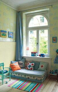 兒童房動物紋牆紙【日本製壁紙】Lilycolor壁紙LV-6452【最低10m起訂】