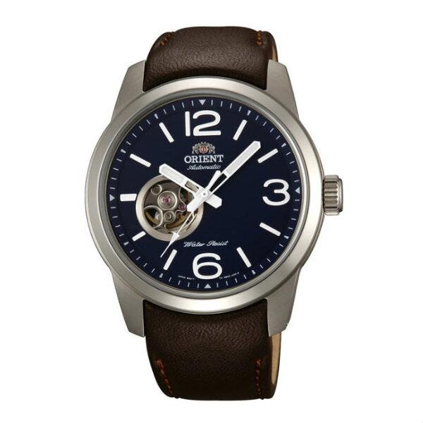 ORIENT東方錶SEMI-SKELETON系列(FDB0C004D)運動型半鏤空機械錶皮帶款42.5mm
