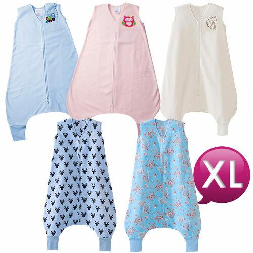 【淘氣寶寶】美國 HALO 防踢包腳包巾/睡袋 刷毛/薄棉 XL號【美國第一大嬰童睡袍品牌】