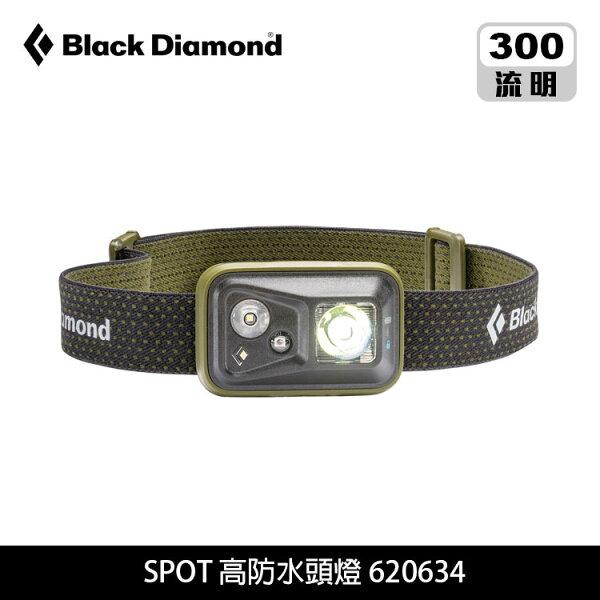 BlackDiamondSpot高防水頭燈620634城市綠洲(登山露營用品、露營燈、手電筒、燈具)