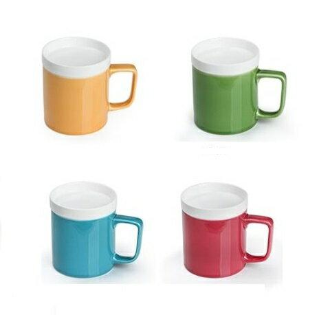 丞漢茗品 樂仕蓋杯 360ml/單杯 四種顏色