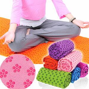 100%超細纖維瑜珈鋪巾(送收納袋)運動鋪巾運動墊瑜珈墊.止滑墊防滑墊瑜珈毯子.地墊野餐墊腳踏墊子.健身瑜珈用品推薦哪裡買D087-125