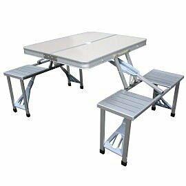 ╭☆雪之屋戶外休閒館☆╯@P28-8鋁框野餐桌椅組DJ6730(附外袋) 登山/露營/野餐/戶外桌椅