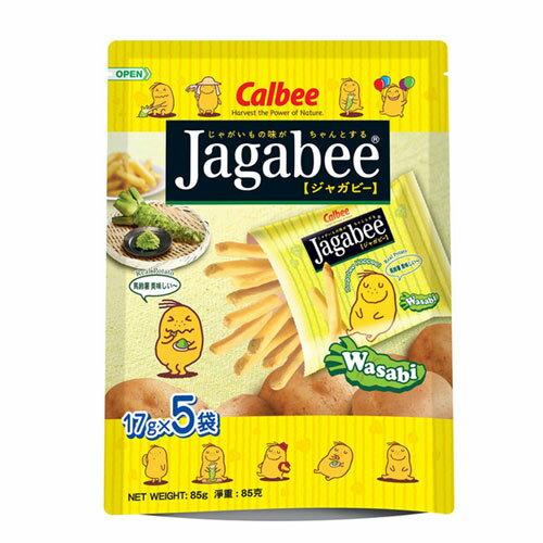 加卡比薯條~袋裝~哇沙比口味85g~愛買~