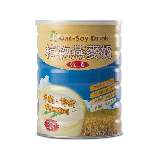 里仁 植物燕麥奶(微甜) 1000gx3罐