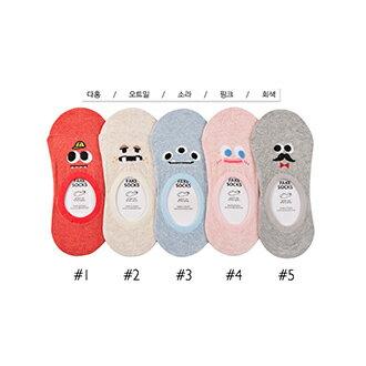 韓國表情造型隱形襪-多款任選 (SOCK-050-F)