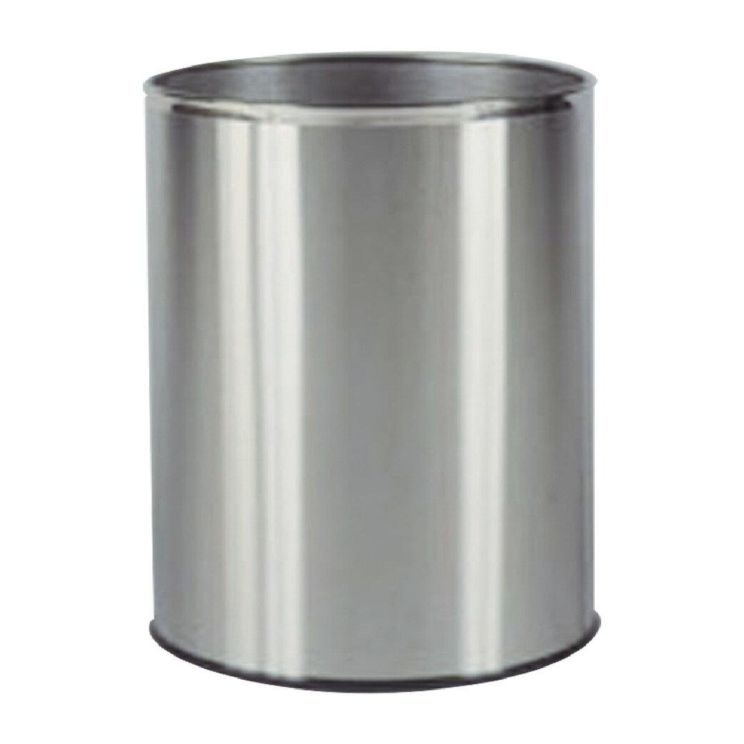 圓形不鏽鋼垃圾桶 :TR-25S: 回收桶 清潔 廚餘桶 分類桶 置物桶
