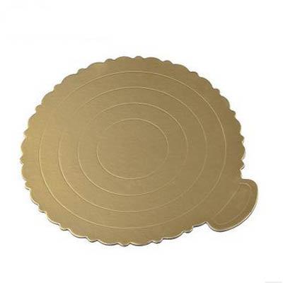 【蛋糕墊-6寸-15個/組】6寸蛋糕墊圓形金托 蛋糕硬紙墊 生日蛋糕底托 硬質加厚-8070701