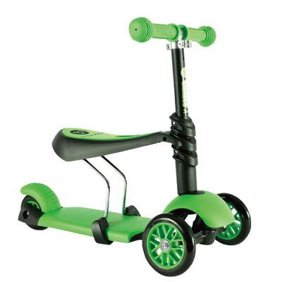 ※ Y Volution Glider平衡滑板車三合一款(綠色)