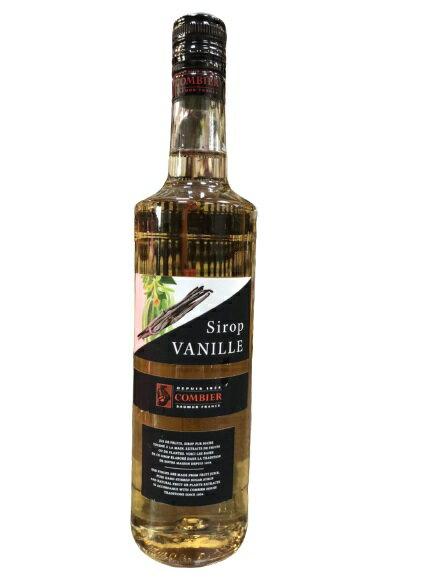 法國 COMBIER 糖漿果露-香草果露 Vanilla Syrup 700ml/瓶 (有效期限:2021/12)