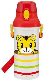 日本製 SKATER Benesse 巧虎直飲式背帶兒童水壺 480ml *夏日微風*