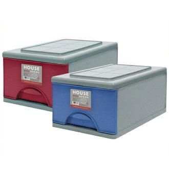 E&J【652006】Mr.box免運費,D097抽屜式整理箱33L *3入(三色可選) 收納箱/整理箱/收納袋/衣櫃