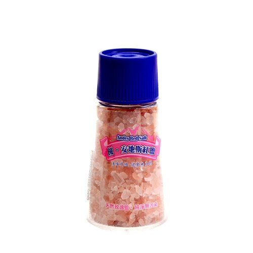 優安地斯紅岩鹽120g(研磨罐)【愛買】
