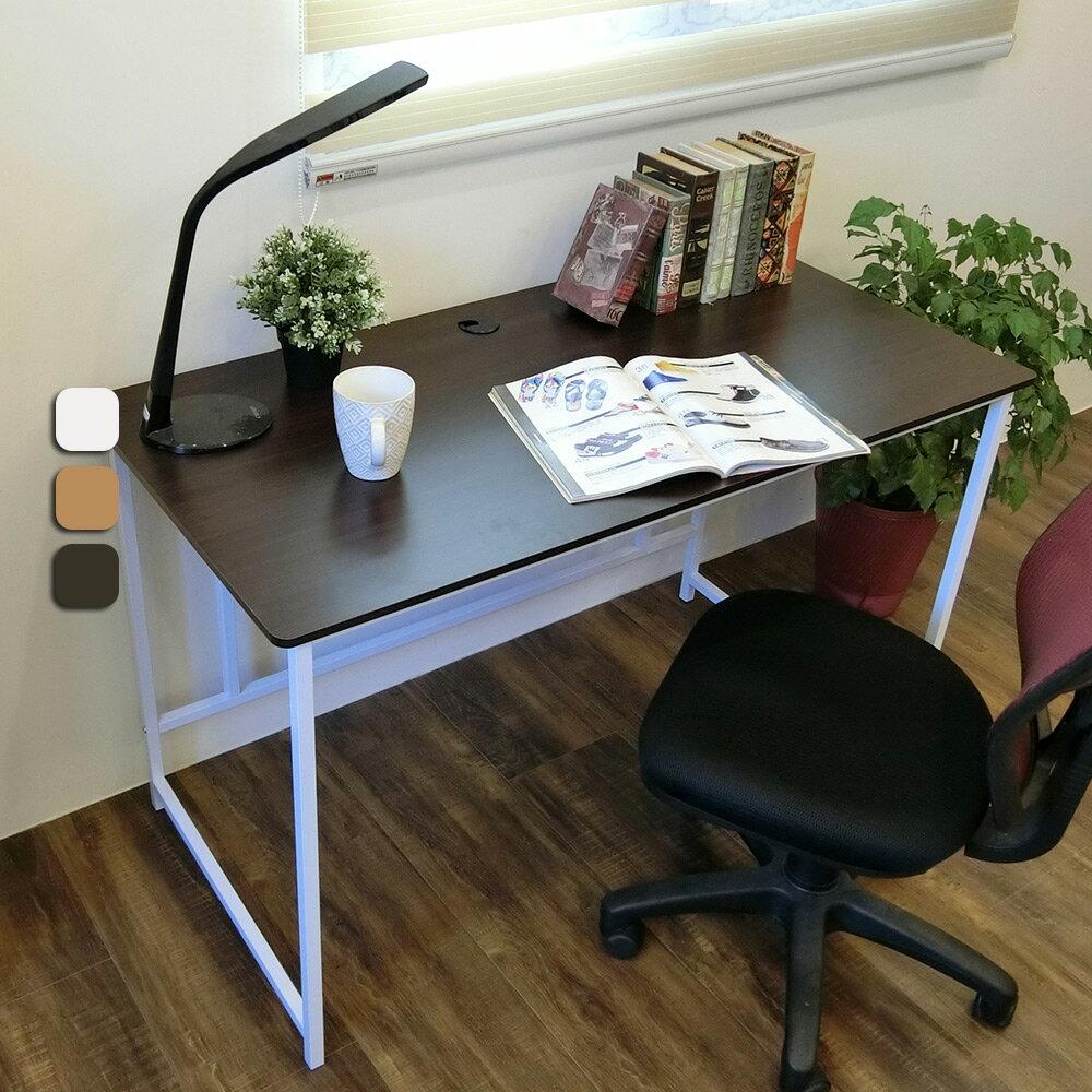 新時代簡約風120公分大平面工作桌 電腦桌 書桌 台灣製 Amos【DCA015】 1