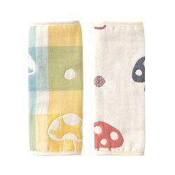 Hoppetta - 六層紗繽紛蘑菇背巾口水巾