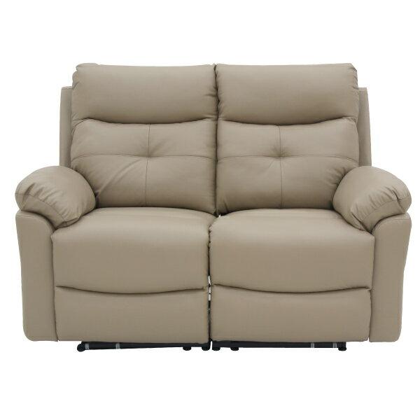 ◎(OUTLET)半皮2人用電動可躺式沙發 MEGA MO 福利品 NITORI宜得利家居 1
