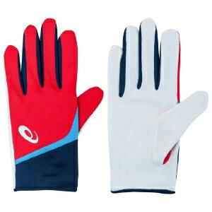 [陽光樂活]ASICS亞瑟士田徑商品配件手套比賽手套XTG224-2340紅
