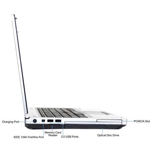 HP Elitebook 8460P Core i5-2 5GHz, 8GB RAM, 128GB SSD, DVD, 14