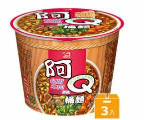 阿Q桶麵紅椒牛肉風味(3碗組)【合迷雅好物商城】