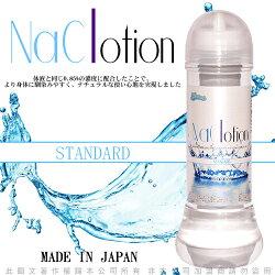 情趣用品-日本原裝NaClotion自然感覺潤滑液360ml STANDARD 中黏度/標準型 透明