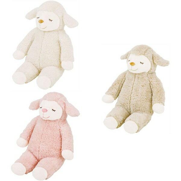 日本代購預購睡睡羊小綿羊羊咩咩蓬鬆舒適娃娃抱枕玩偶50cm876-621