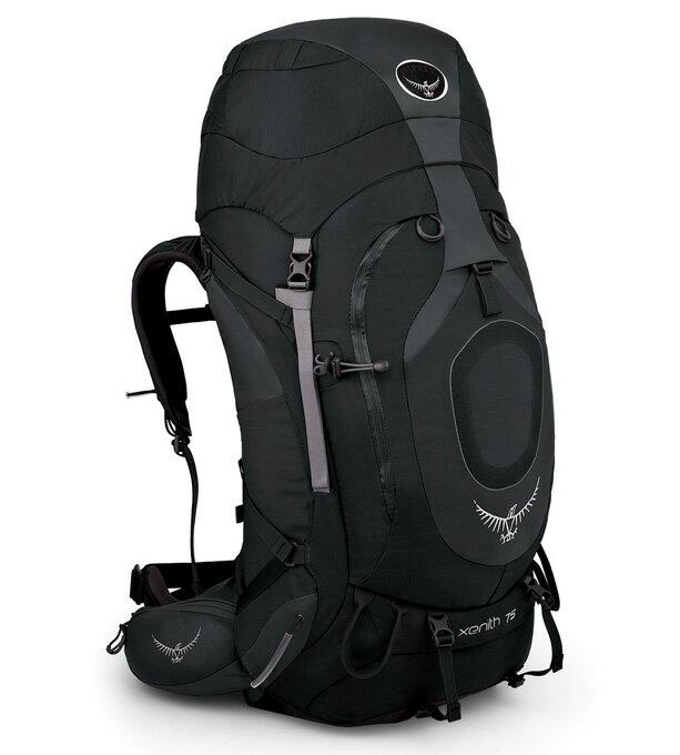 Osprey |美國| XENITH 75 登山背包《男款》/重裝背包-石墨灰M/Xenith75 【容量75L】