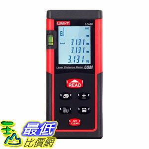 [107美國直購] 雷射測距儀 UNI-T LD60 Laser Distance Meter 60M/196ft Handheld Mini Measure Finder Diastimeter