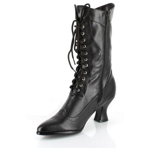 Women's Amelia Boot - Color: Black PU, Size: 7 2