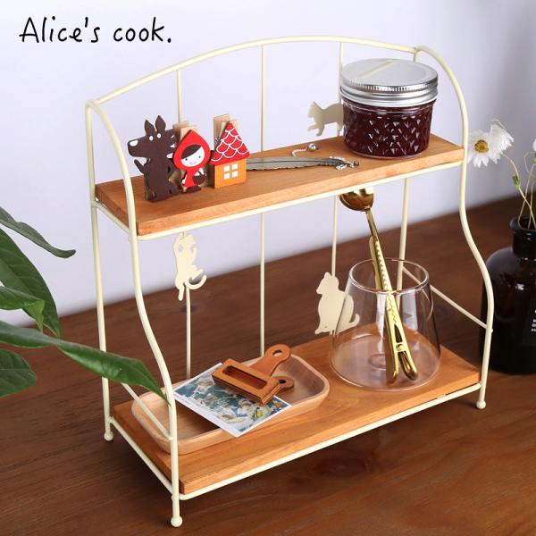 |現貨|日式貓咪剪影廚房收納架置物架|2色|收納架貓咪剪影居家收納
