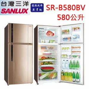 ~正育 ~~SR~B580BV~SANYO  SANLUX 三洋冰箱 580公升 變頻 雙