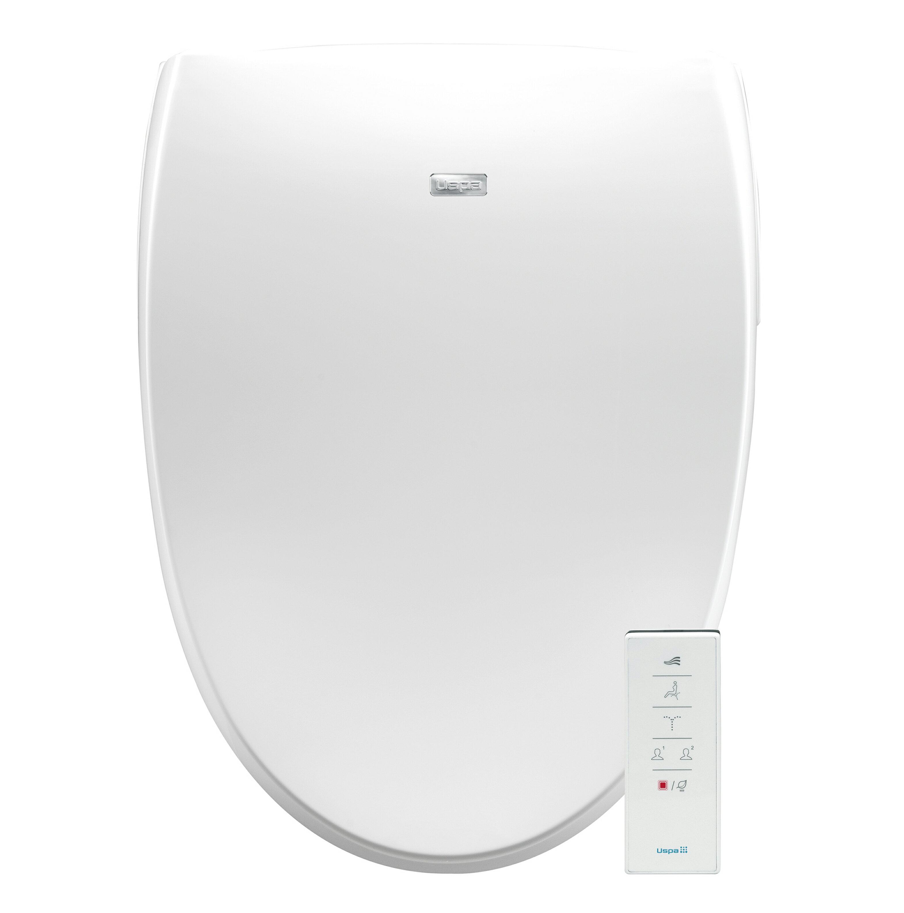 Groovy Bio Bidet A8 Serenity Premier Bidet Smart Toilet Seat In Elongated White With Dual Sided Wireless Remote Machost Co Dining Chair Design Ideas Machostcouk