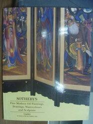 【書寶二手書T2/收藏_PCI】Sotheby's_1995/10/15_Fine Modern Oil…