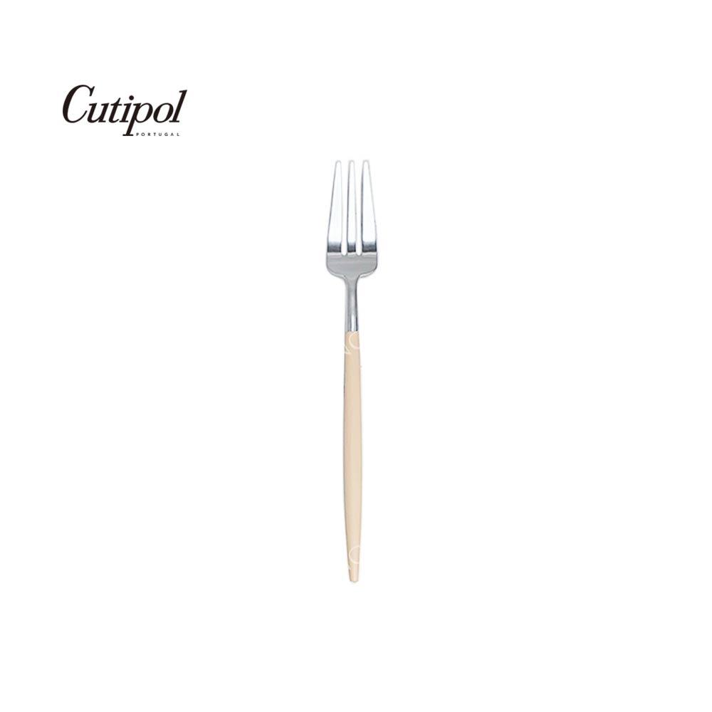 葡萄牙 Cutipol GOA系列17cm點心水果叉 (奶茶銀)