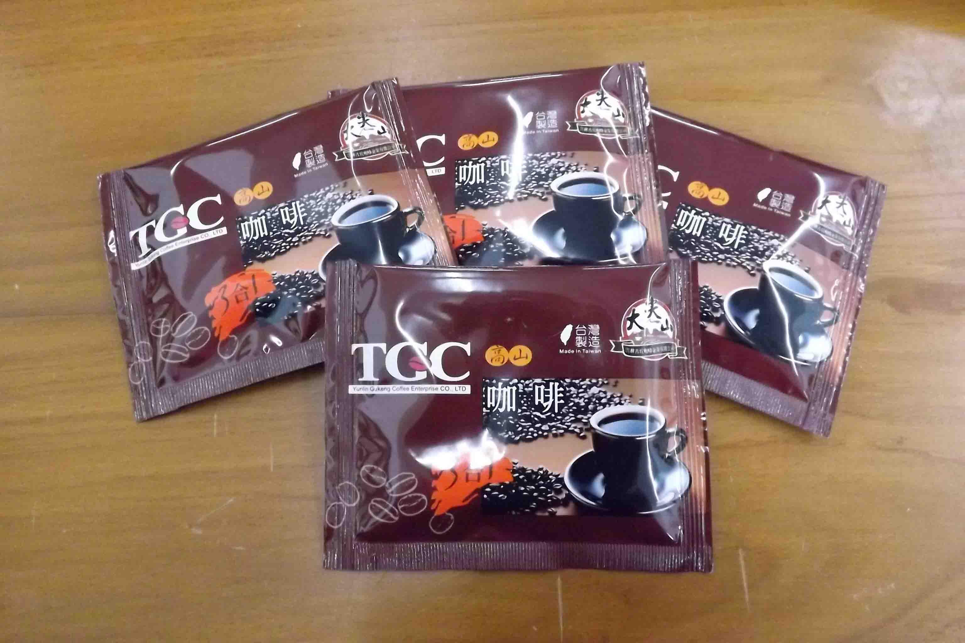 [古坑咖啡~TGC]台灣高山三合一咖啡量販100入裝