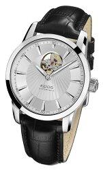 epos 愛寶時 3423.133.20.18.25FB 時尚透視擺輪機械腕錶/白面40.8mm