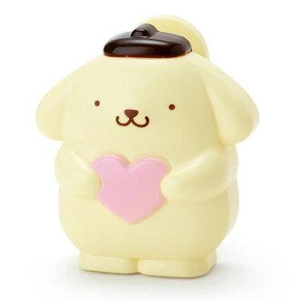 【真愛日本】16021700024 造型折疊附鏡按摩梳-PN 三麗鷗家族 布丁狗 梳子 美髮用品