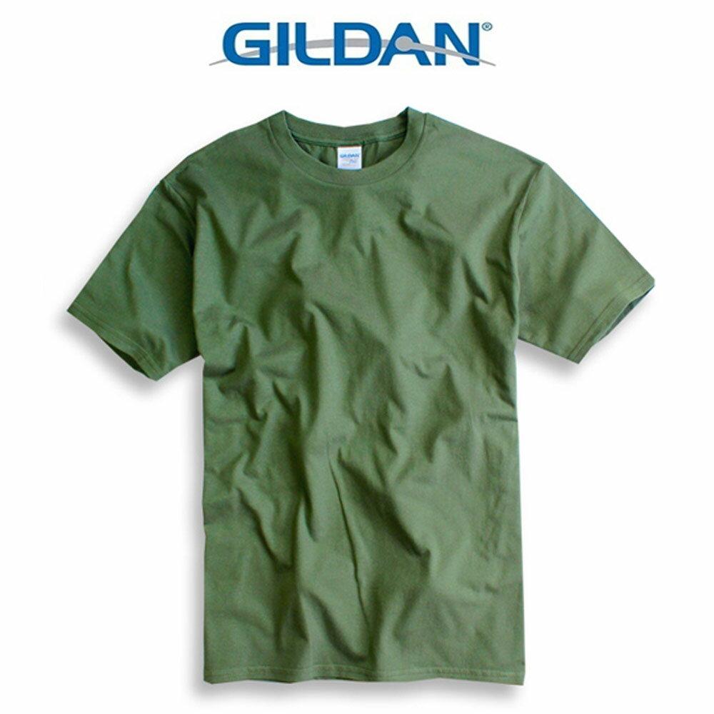 吉爾登GILDAN美國棉素T 圓領 GD美式休閒-石楠灰 5
