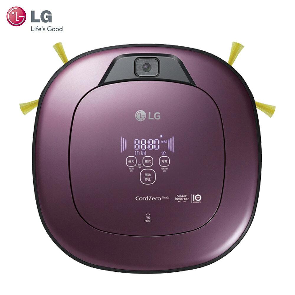 LG 樂金 VR6690TWVV WiFi濕拖清潔機器人 CordZero 雙眼