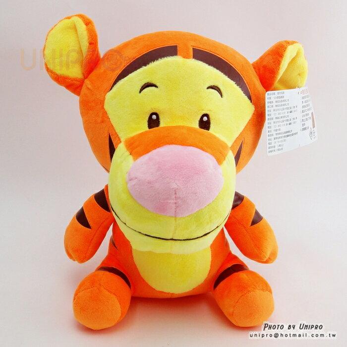 【UNIPRO】迪士尼 小熊維尼 的朋友 Q版 跳跳虎 玩偶 造型 布偶 Tiger 26公分