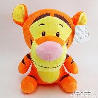 小熊維尼周邊商品推薦【UNIPRO】迪士尼 小熊維尼 的朋友 Q版 跳跳虎 玩偶 造型 布偶 Tiger 26公分