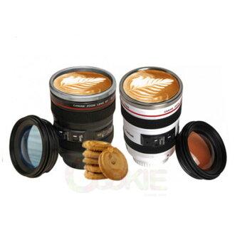 創意佳能相機鏡頭水杯保溫杯camera lens cup六代【庫奇小舖】黑白兩色