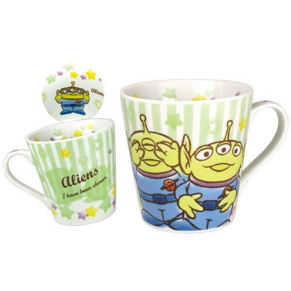 【真愛日本】18050400012 馬克杯-三眼怪條紋星星 玩具總動員 三眼怪 外星人 馬克杯 陶瓷馬克杯 杯子
