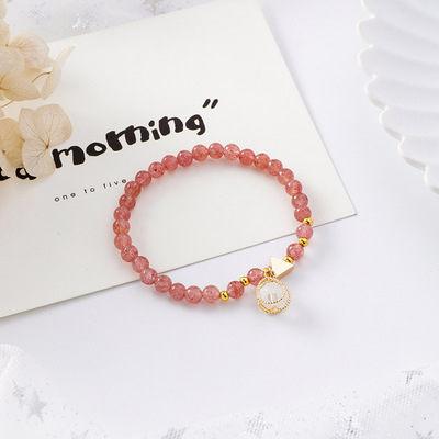 PS Mall 韓版甜美少女心金屬纏繞珍珠串珠手鏈森林系簡約個性手串【G2528】 5