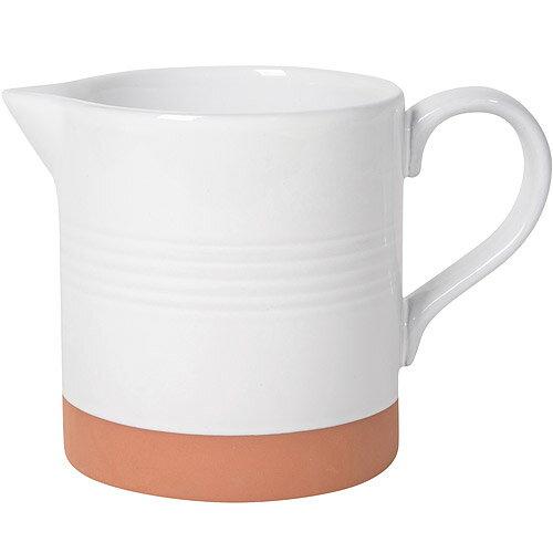 《NOW》雙色赤陶水壺(白)